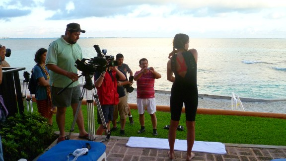 """Filming is under way for a documentary about Bastidas' journey. The child advocacy group iEmpathize hopes """"Be Relentless""""  will help fight human trafficking in the United States and Mexico."""