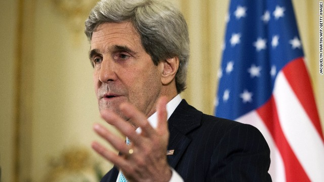 John Kerry talks Ukraine with Russia