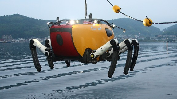 """Its maiden voyage will come in May 2014, in the Yellow Sea. """"The mission will be excavation of ancient artifacts by cooperating with marine archaeologists,"""" said lead researcher Bong Huan Jun.<br />""""CR200 will do precise seafloor mapping of the turbid area with acoustic equipment. We will also try a number of possibilities of CR200's role for underwater excavation."""""""