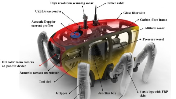 """""""I expect there will be demands in scientific fields if Crabster does well in its sea trials,"""" said Huan Jun. """"Then many other Crabster will be possibly manufactured for use across the world."""""""