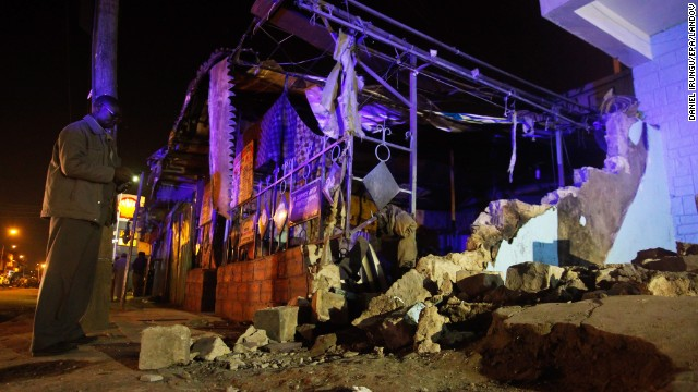 The explosion occurred in Eastleigh, a largely Somali neighborhood, east of the Nairobi city center.