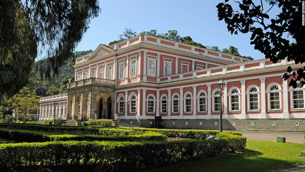 "The former summer palace in the middle of Petrópolis was built in the mid-1800s. Displays include the Brazilian Imperial Crown and Imperial Carriage. The museum is an hour's drive (70 kilometers) from Rio de Janeiro's city center and is one of Brazil's most popular museums with an average of 300,000 visitors a year.<a href=""http://www.museuimperial.gov.br/"" target=""_blank""><em><br />Imperial Museum of Brazil<em></a></em>, Rua da Imperatriz, 220, Petrópolis, Rio de Janeiro; +55 24 2245-5550</em>"