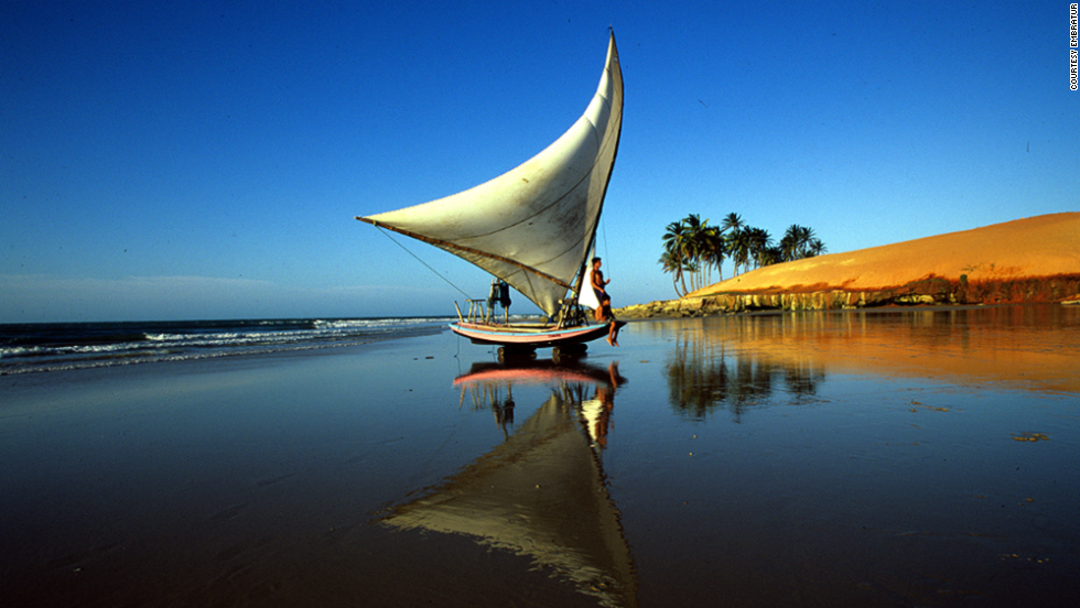 "On the northeast coast of Brazil, the capital of Ceará state is well known for lobster and fresh seafood. Fortaleza's urban beaches are great for windsurfing and sailing. <em><br />More info: <a href=""http://www.visitbrasil.com/visitbrasil/opencms/portalembratur/en/fortaleza-por-inteiro.html"" target=""_blank""><em></em>www.visitbrasil.com</a></em>"