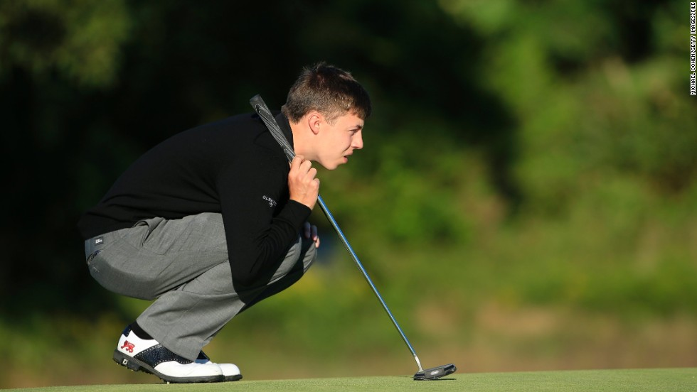 Fitzpatrick had enrolled at Northwestern University in Illinois last year, but did not return to the U.S. college in January -- choosing instead to focus on his amateur career.