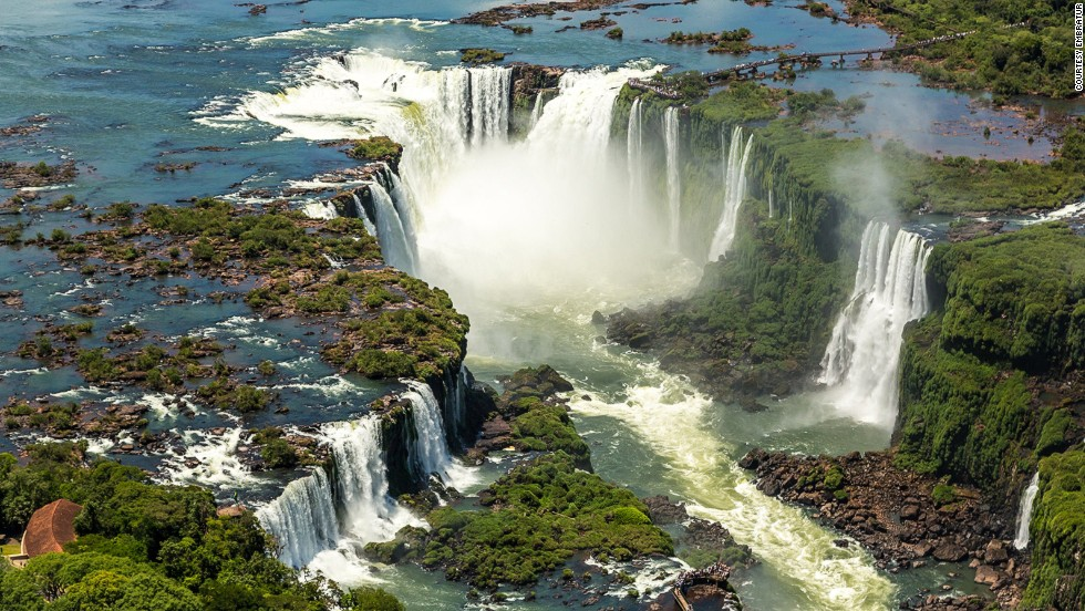 "The Iguazu Falls are made up of more than 270 smaller individual waterfalls, most of which, including Devil's Throat, are on the Argentine side. From the tourist walkways on the Brazilian side, in Brazil's <a href=""http://www.cataratasdoiguacu.com.br/parque-nacional-do-iguacu/sobre-o-parque"" target=""_blank"">Iguazu National Park</a>, you get fantastic, though not entirely spray-free, panoramic views."
