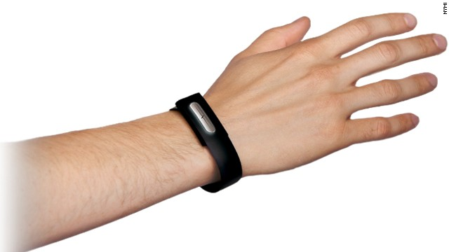 The Nymi wristband detects a wearer's unique heartbeat and could be used to unlock devices, start cars and open doors.