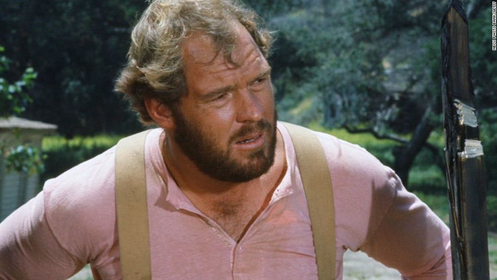 "Merlin Olsen was part of the Los Angeles Rams' Fearsome Foursome defensive line in the '60s and '70s. After he retired from the NFL, he acted in ""Little House on the Prairie"" and ""Father Murphy"" and became a pitchman for FTD Florists."