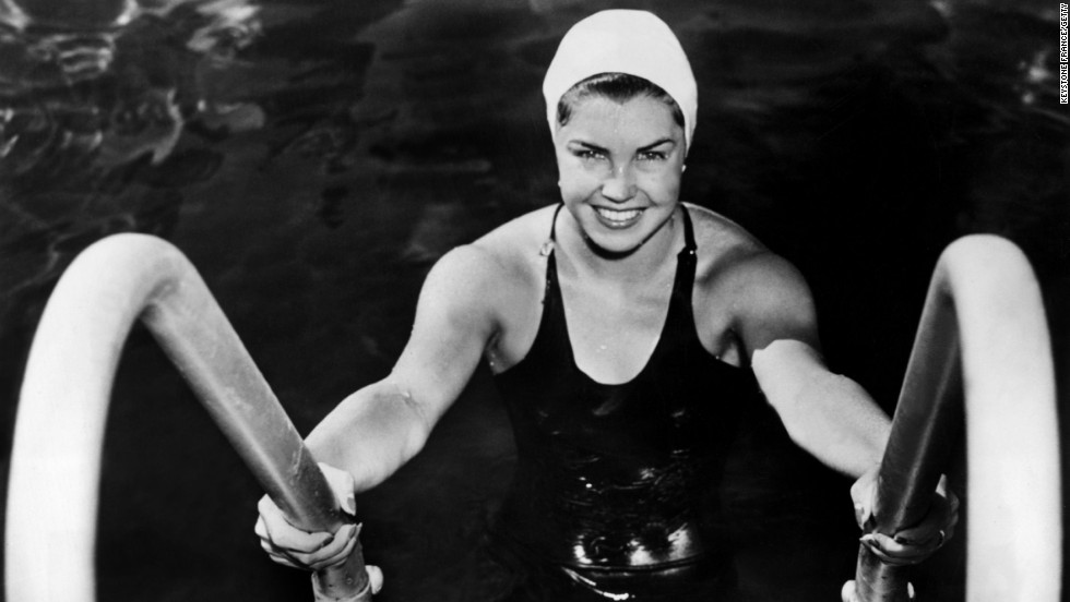 "Esther Williams was a renowned Los Angeles swimmer when she joined a theatrical swimming troupe, Billy Rose's Aquacade. She parlayed her abilities into a successful acting career -- though, in such films as ""Dangerous When Wet"" and ""Million Dollar Mermaid,"" she wasn't far from the water."