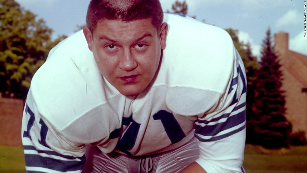 "Alex Karras was a dominant player for the Detroit Lions in the 1960s before turning to acting. He played Mongo in ""Blazing Saddles"" and had a long run on the TV series ""Webster"" as Emmanuel Lewis' adoptive father."