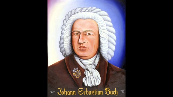 "Art and music were important parts of Kevorkian's life.  He created this portrait of Johann Sebastian Bach as an expression of his love for the German composer's music.  He wrote in 1997 that he was ""attempting to compose my own music,"" a venture he described as ""both curiously satisfying and one of the most intellectually challenging things I have ever done."""