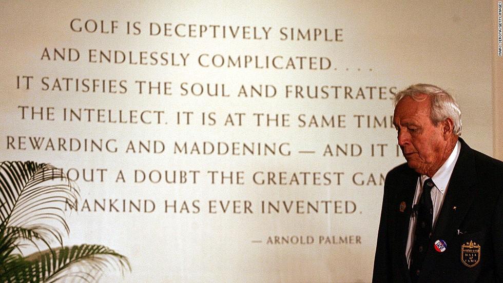 Arnold Palmer Fast Facts Cnn