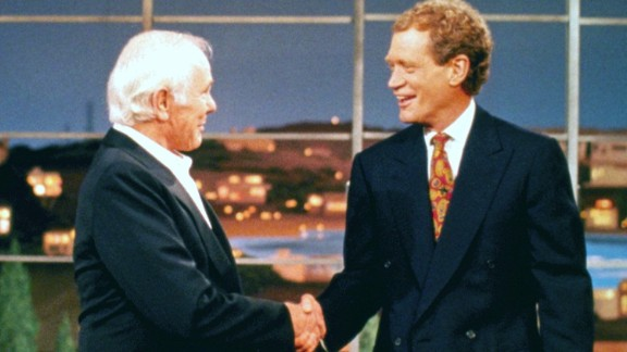 Any moment with legend Johnny Carson and legend-in-the-making Letterman was destined to be a classic, but Carson