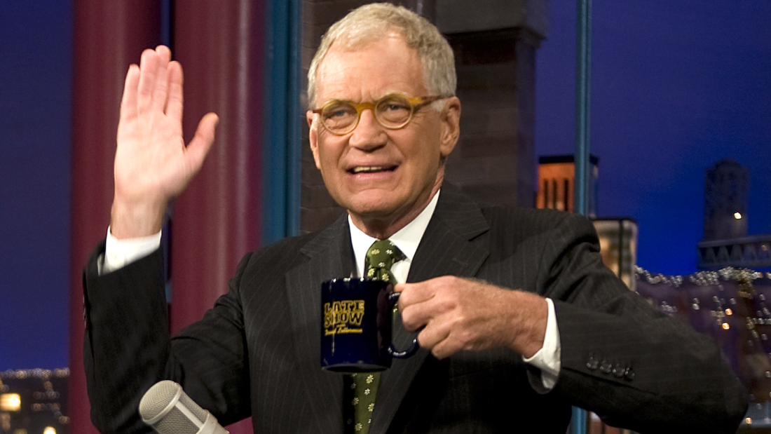 """David Letterman: A Life on Television,"" Monday 9:30 p.m., CBS"