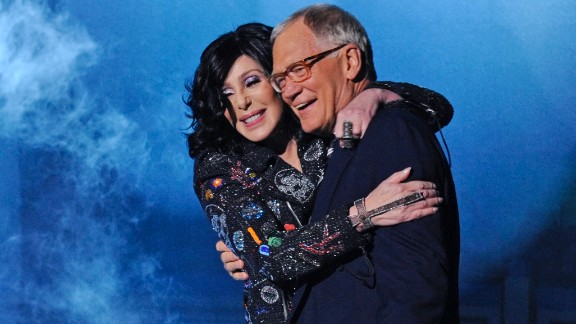 "Cher and Letterman have a storied past, as the singer seems to have a unique ability to confound the comedian. Once in 1996 she told him he looked like ""s---,"" and generally gave him a hard time.  However, the singer has appeared on his show several times since, including in 2013, when she gave him a big hug after performing a song off her latest album."