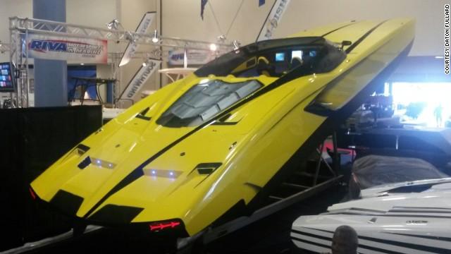 Supercar Yacht Dream Machine Or Ego Gone Mad Cnn