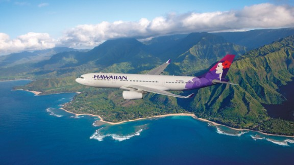 <strong>3. Hawaiian Airlines:</strong> The Hawaiian carrier was in the No.1 position last year, but in the 2018 rankings it has slipped down to 87.24% punctuality.
