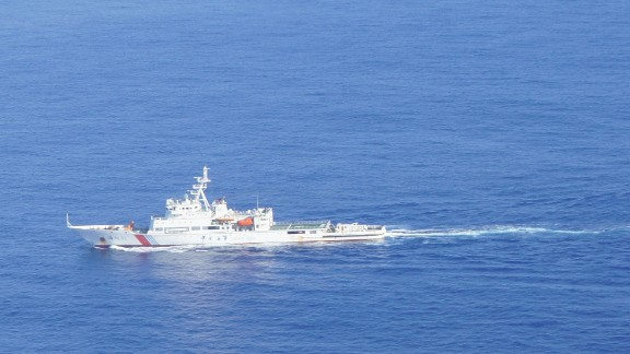 (140405) -- SOUTHERN INDIA OCEAN, April 5, 2014 (Xinhua) -- Photo taken on March 29, 2014 shows Chinese patrol ship Haixun 01 searching in souther India Ocean. Chinese patrol ship Haixun 01, searching for the missing Malaysian passenger jet MH370, detected a pulse signal with a frequency of 37.5kHz per second in southern Indian Ocean waters Saturday. A black box detector deployed by the Haixun 01 picked up the signal at around 25 degrees south latitude and 101 degrees east longtitude. It is yet to be established whether it is related to the missing jet. (Xinhua/Bai Ruixue) (djj) (Photo by Xinhua/Sipa USA)