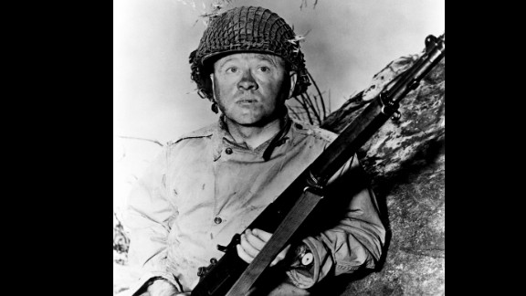 """Rooney earned an Oscar nomination for his role in the World War II film """"The Bold and the Brave"""" in 1956."""