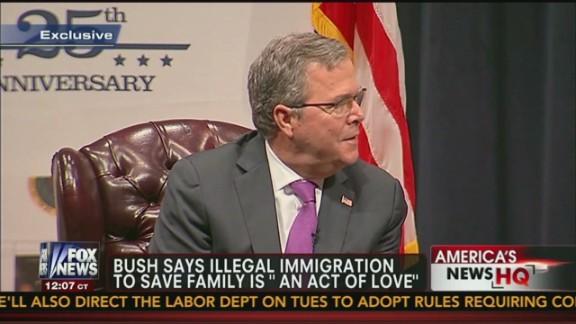 Inside Politics: Jeb Bush on 2016, Immigration_00004511.jpg