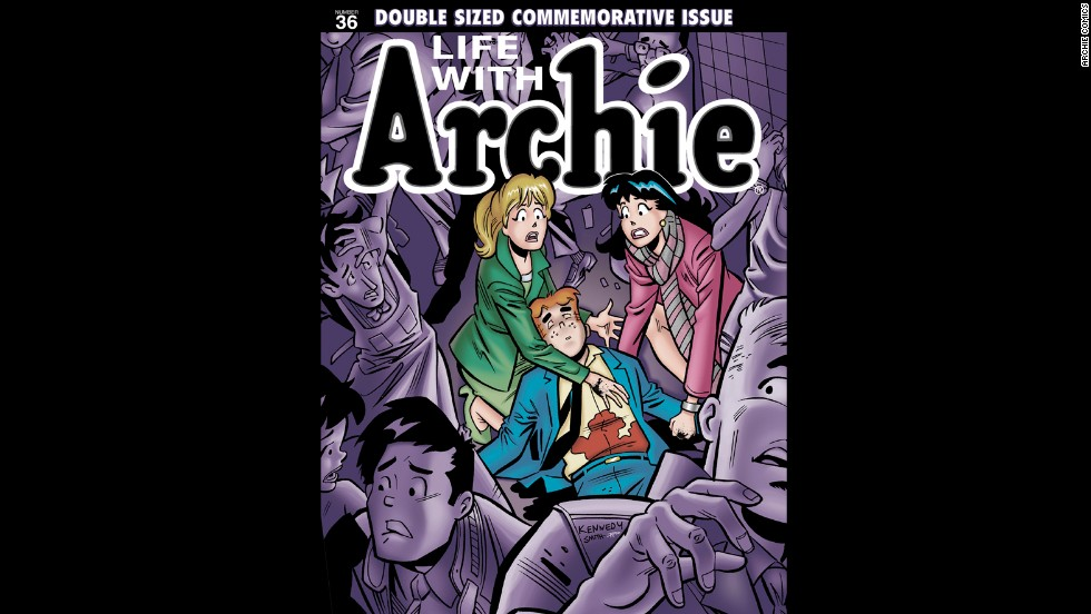 "Archie Comics has revealed that beloved character Archie Andrews will die in ""Life with Archie"" No. 36 in July. The ""Life with Archie"" series tells stories of future scenarios for Archie and his friends in Riverdale. The present-day Archie stories will not be affected."