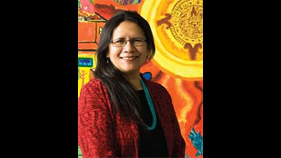 """""""I think of the kids on the reservation and what they would find that reflects who they are,"""" Debbie Reese said."""