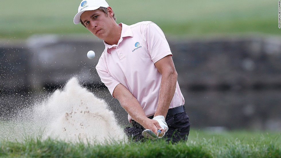 Goss finished as runner-up to Fitzpatrick at the U.S. Amateur, but that was still enough to book the 19-year-old's place at both the Masters and the U.S. Open.