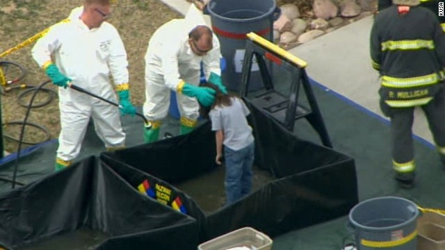 NS Slug: CO: SCHOOL HAZMAT SITUATION - AERIALS Synopsis: Mysterious toxin forces Colorado School To Evacuate