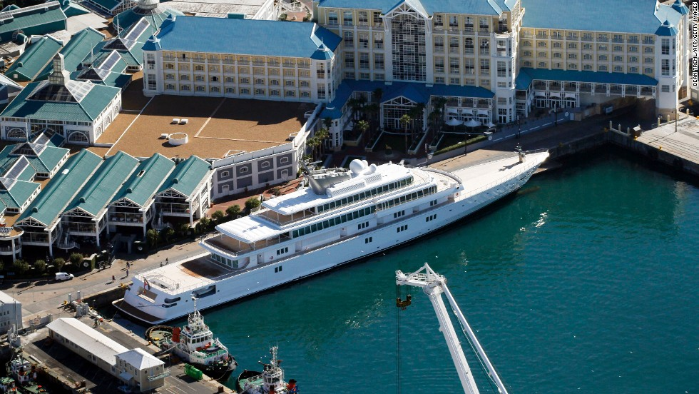 "The 138-meter (453-foot) yacht ""Rising Sun"" was purchased by Larry Ellison of Oracle, who has been one of the nation's highest-paid executives. From the 1990s on, CEO compensation greatly outpaced the average compensation of workers."