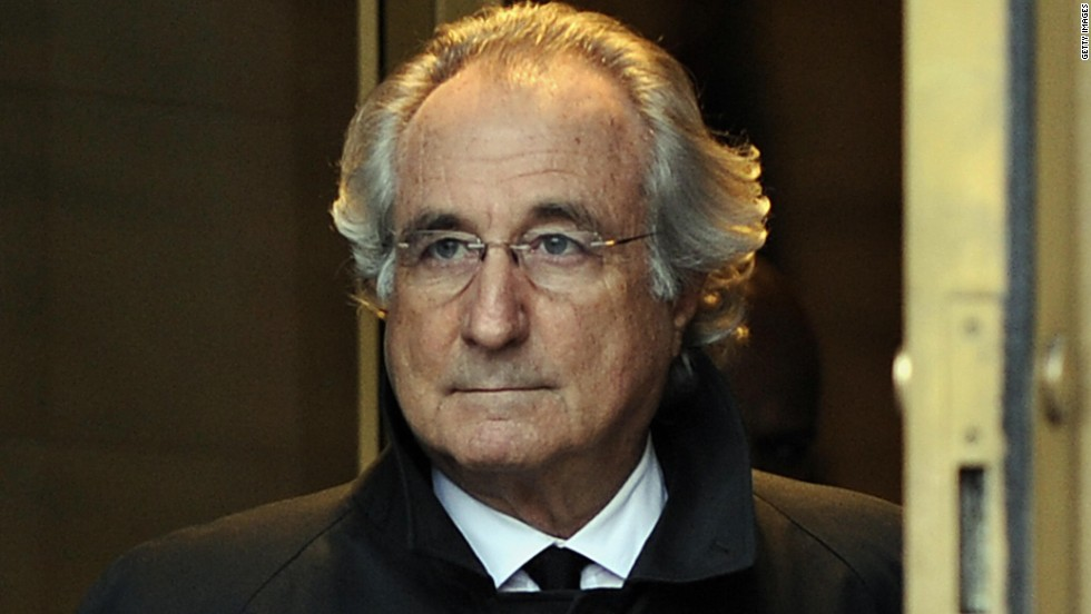 Bernie Madoff is infamous for creating an extensive Ponzi scheme that involved many high-profile people in America.