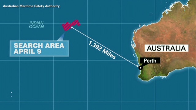 Search area for Flight 370 shrinks