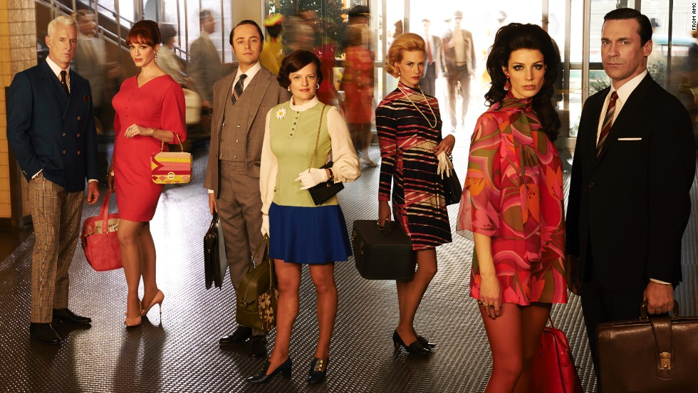 Mad Men\u0027 How the show\u0027s \u002760s style evolved , CNN