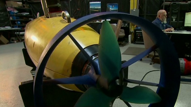 See AUV used to scour ocean in search