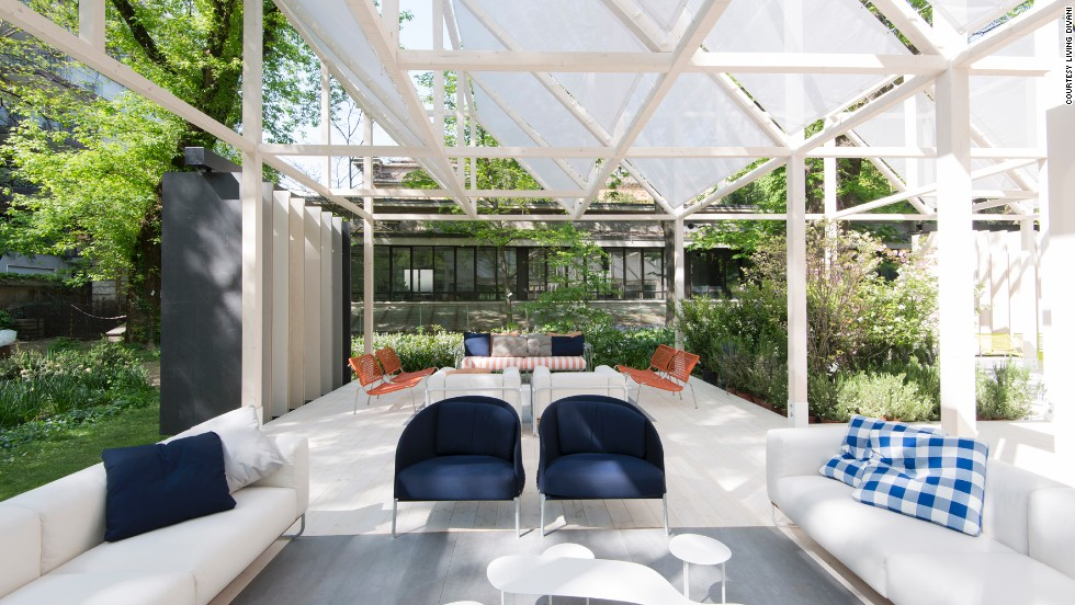 "The brand teamed up with<a href=""http://internimagazine.com/"" target=""_blank""> Interni Magazine</a> to create<a href=""http://fuorisalone2014.breradesigndistrict.it/evento/51/giardino-geometrico?lang=en"" target=""_blank""> ""Giardino Geometrico""</a> installation in the Brera Botanical Garden in Milan, where furniture and nature meet in a tranquil setting."
