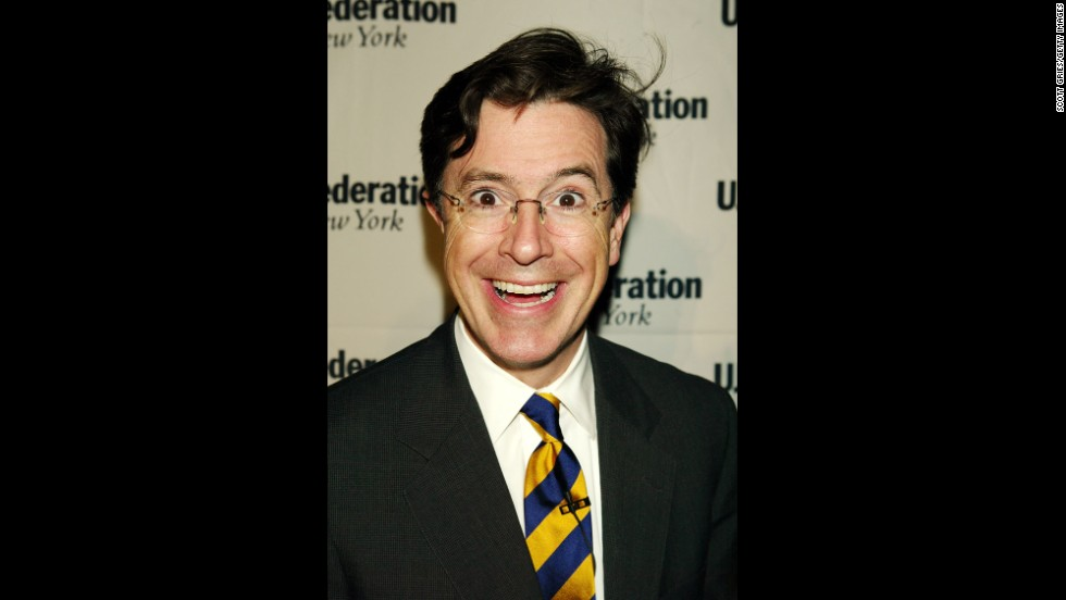 "As a ""correspondent"" and later an anchor, Colbert developed a character that has been, at turns, pompous, pious and egocentric -- basing the persona on many others in television."