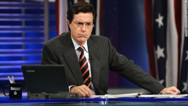 Stephen Colbert to succeed Letterman