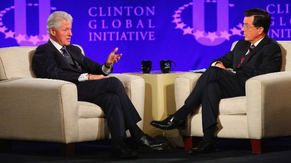 Colbert may be responsible for Bill Clinton being on Twitter. When the former president appeared on his show in 2013, Colbert set up an account, @PrezBillyJeff. Clinton later set up his real account, @billclinton.