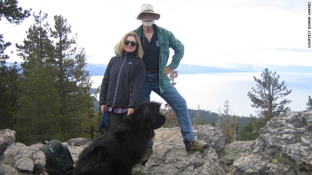 Donna Carnes and husband Jim Gray shared a love of the outdoors. He disappeared sailing off Northern California in 2007.
