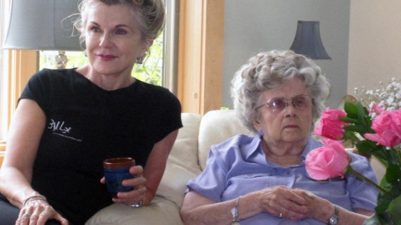 Carnes sought comfort in her mother after her husband went missing, but dementia has changed the older woman.