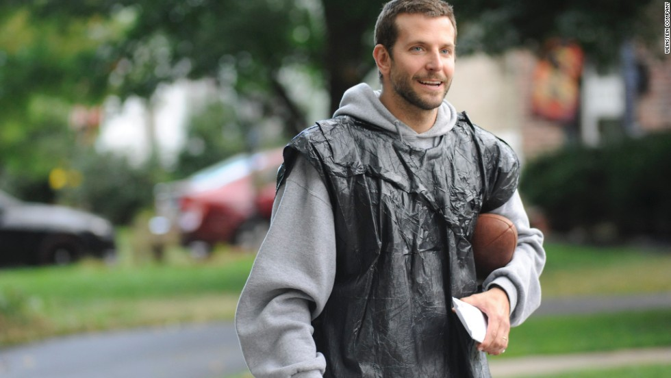 """Silver Linings Playbook"" (2012): Bradley Cooper in what sounds like a football movie, but isn't."