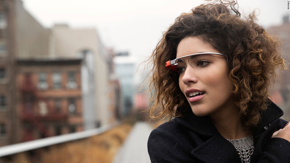 Google Glass is an augmented-reality headset that can take photos and videos, provide navigation and keep track of reservations and bookings.