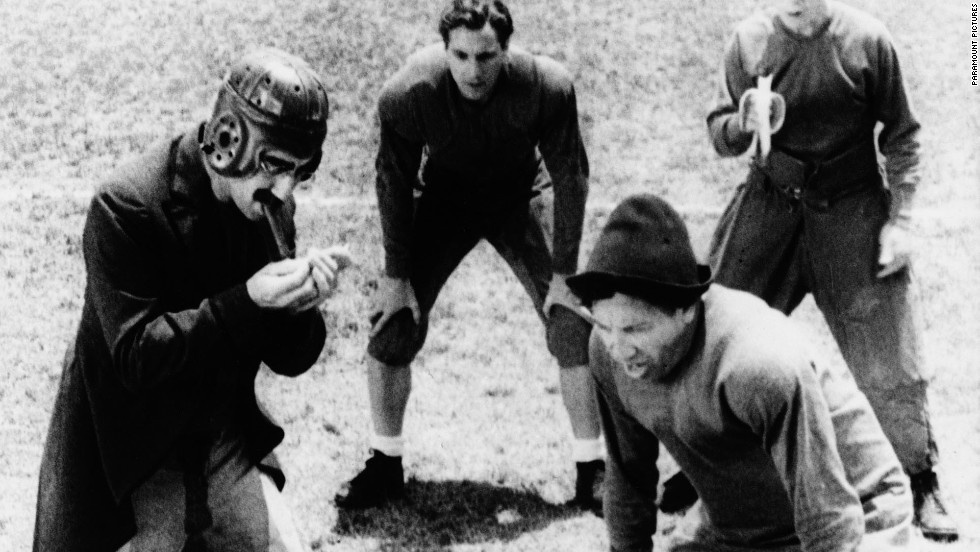 """Horse Feathers"" (1932): Groucho Marx and his brothers, on the gridiron."