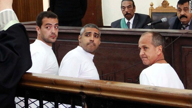 In Egypt, case of trial by error