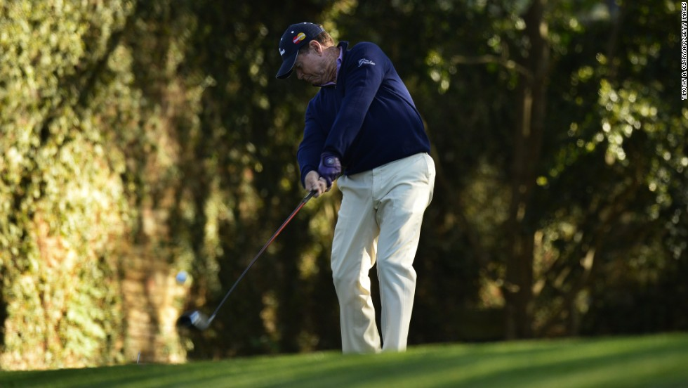Two-time Masters champion Tom Watson didn't have his best day at Augusta, hitting seven bogeys and a double bogey as part of a 78.