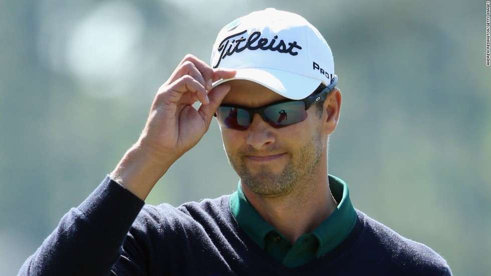 Adam Scott had a good day as he began his title defense at the Masters, carding a 3-under-par 69.