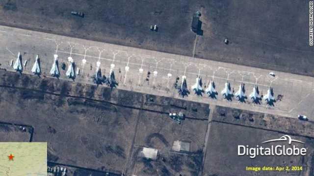 NATO: Pics show Russian military buildup