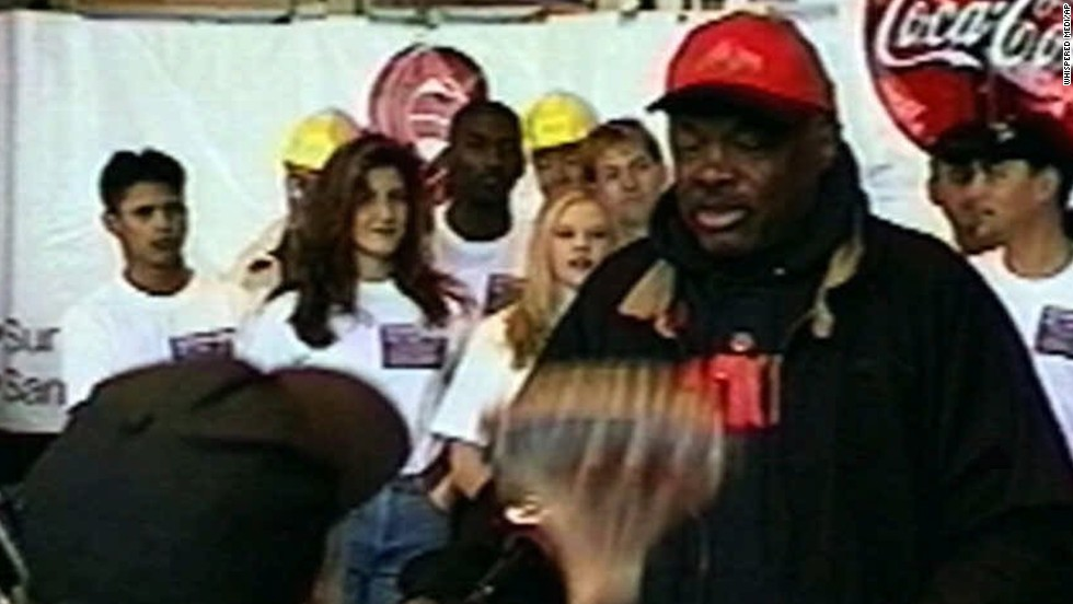 "San Francisco Mayor Willie Brown was nailed in the face with several pies during a news conference in 1998. Cherry, pumpkin, and tofu pies were all thrown by the protesters claiming a ""pastry uprising."""