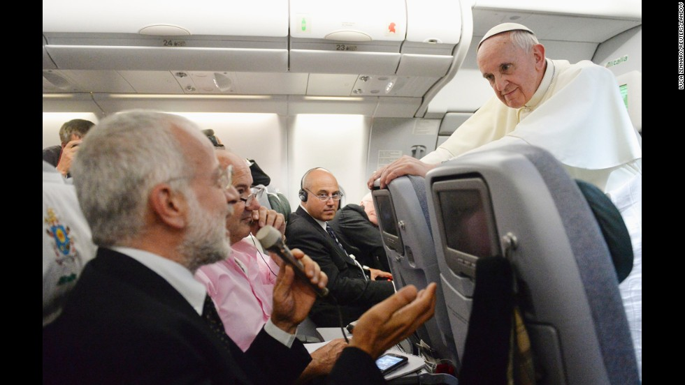 "During an impromptu news conference in July 2013, while on a plane from Brazil to Rome, the Pope said about gay priests, ""Who am I to judge?"" Many saw the move as the opening of a more tolerant era in the Catholic Church."
