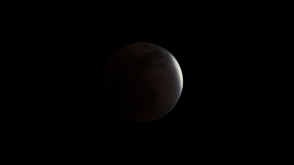 The December 2011 eclipse, as seen from Kathmandu, Nepal. There are usually about two lunar eclipses per year, NASA says. But some of them are so subtle, they are vaguely visible and go greatly unnoticed. To get four blood moons in such a short period of time is very rare.