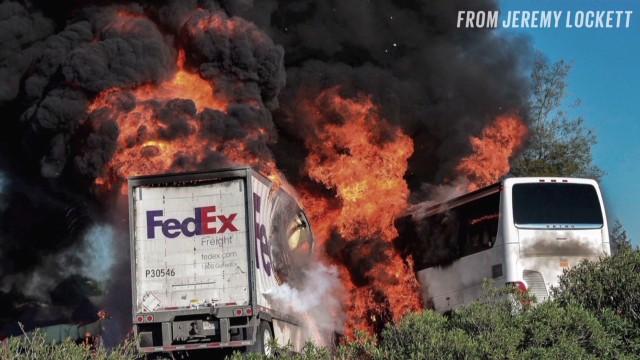 Third lawsuit filed in FedEx truck crash that killed 10