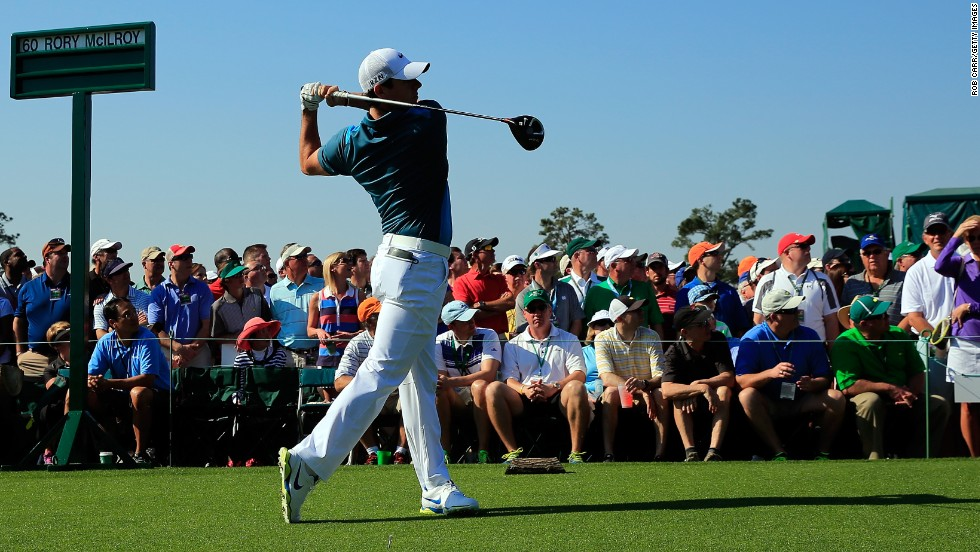 Former world No. 1 Rory McIlroy executed a perfect swing Saturday but his poor second round realistically ended title hopes. He is at 3-over.